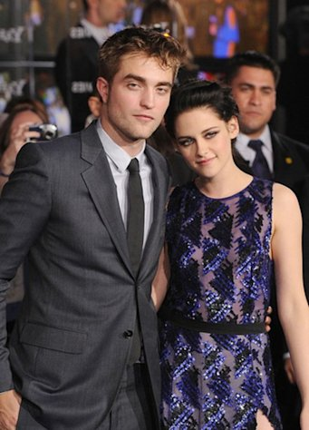 """Twilight"" stars Robert Pattinson and Kristen Stewart."