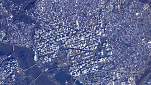 Astronauts See Obama Inauguration Site from Space