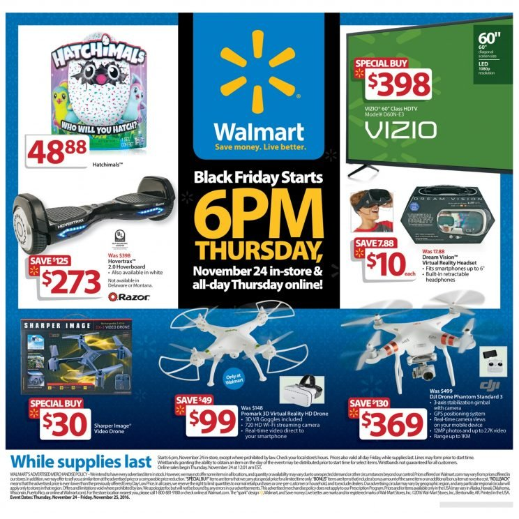 Walmart Black Friday dones