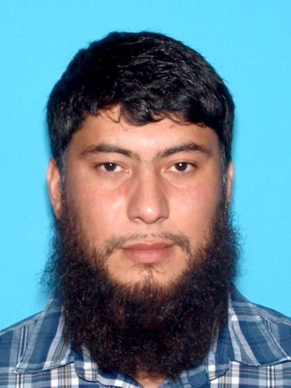 This undated image provided by the Idaho State Police shows Fazliddin Kurbanov. Kurbanov, an Uzbekistan national, pleaded not guilty during his first court appearance Friday, May 17, 2013 on U.S. charges that he gave support, cash and other resources to help a recognized terrorist group in his home country plan a terrorist attack there. (AP Photo/Idaho State Police)