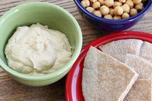 Hummus for breakfast? Why not?