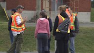 About 85 maintenance and emergency services workers are on strike at St. John's International Airport.