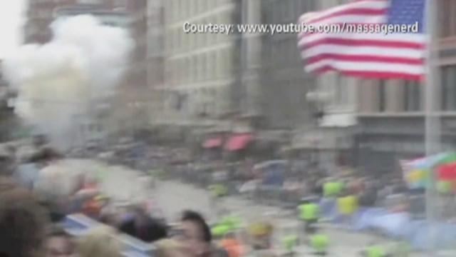 Boston day after bombing: Police presence strong