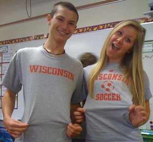 Lakeville South star Brianna Stelzer, who will play at Wisconsin — Facebook