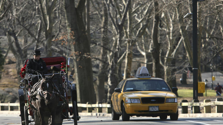 Mayoral politics threaten NYC horse-carriage rides