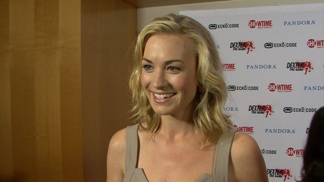 Yvonne Strahovski chats with Access at the &#39;Dexter&#39; party at San Diego Comic-Con 2012, July 19, 2012 -- Access Hollywood