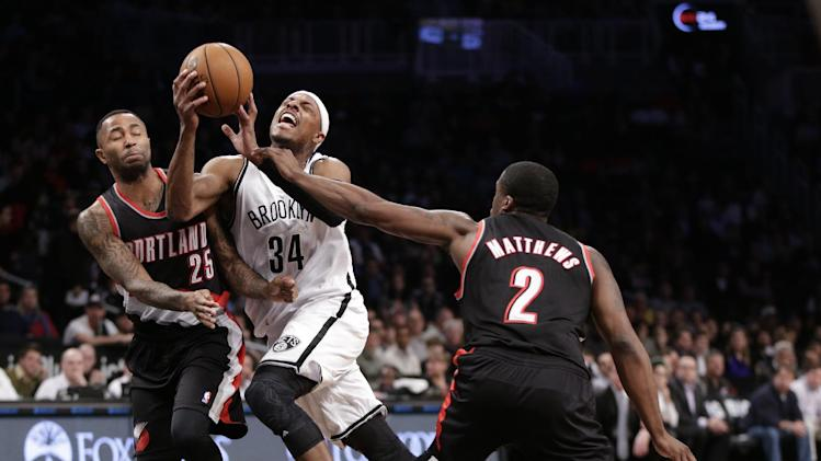 Blazers surge past Nets for 7th straight victory