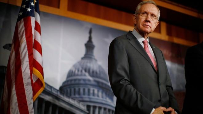 """Any bill that passes the Senate must include background checks."" — Senate Majority Leader Harry Reid"