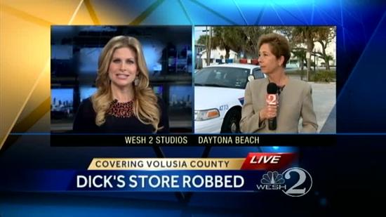 911 calls released in Dick's Sporting Goods robbery