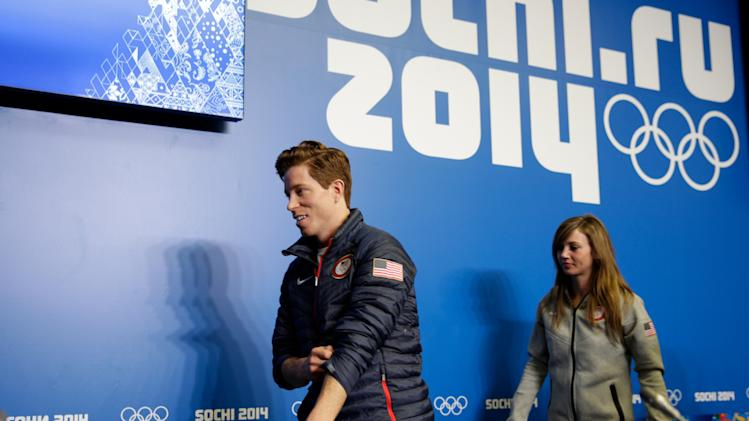Olympics: Snowboarding-USA Halfpipe Press Conference