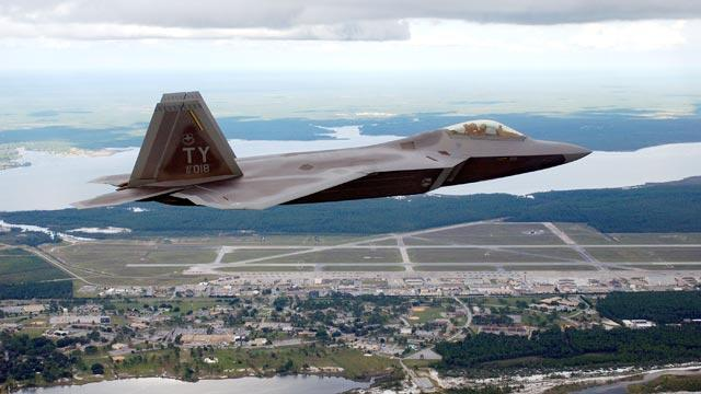 Air Force Investigates Raptor Crash