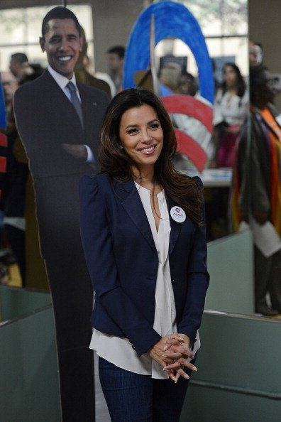 Eva Longoria sees her candidate win