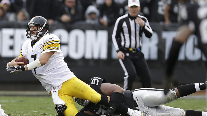Slow starts not helping struggling Steelers