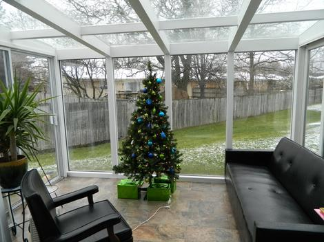 How we built a sunroom for $1,000