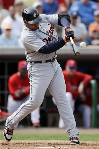 Cabrera hits 2nd HR for Tigers, Lee fine for Phils