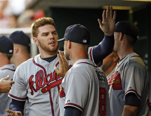 Sheets, Heyward lift Braves over Phillies 6-1