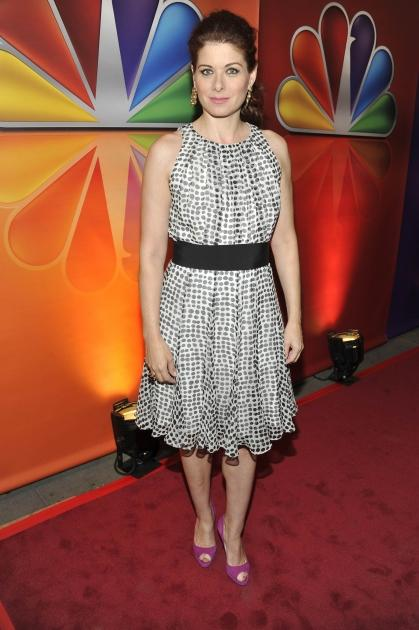 Debra Messing of 'Smash' arrives at the 2012 NBC Upfront Presentation in New York City on May 14, 2012  -- Getty Premium