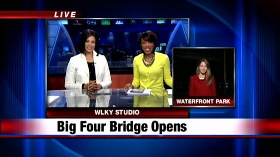 Big Four Bridge officially opens to pedestrian traffic
