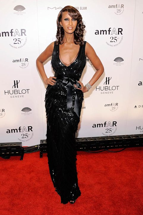 Iman amfAR Event