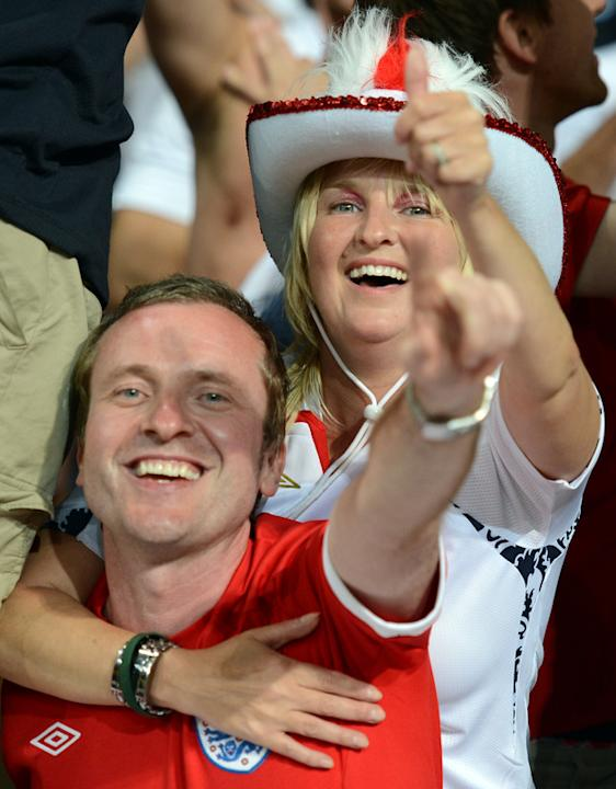 English Supporters AFP/Getty Images
