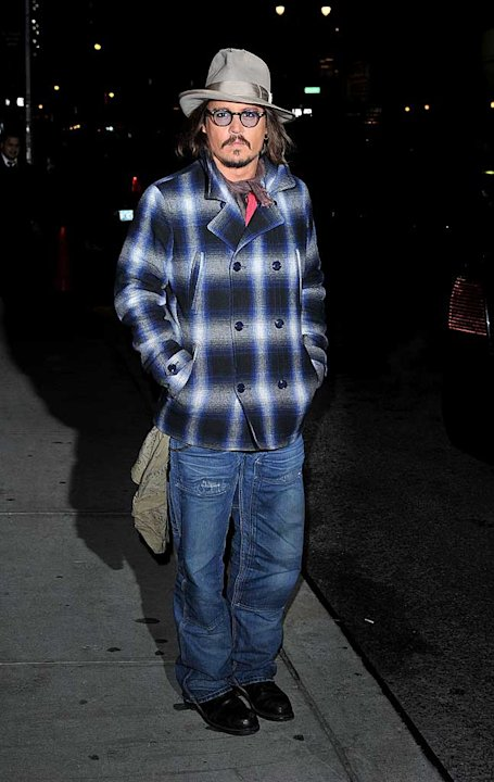 Johnny Depp Letterman