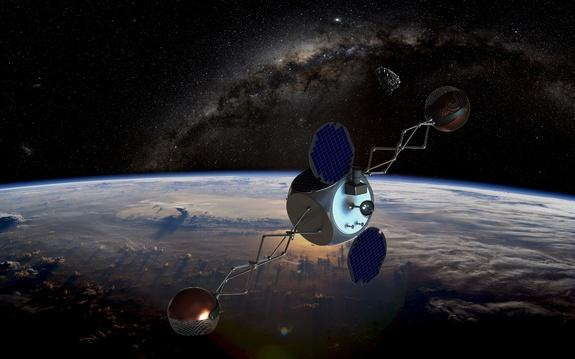 'Sling-Sat' Could Remove Space Junk on the Cheap
