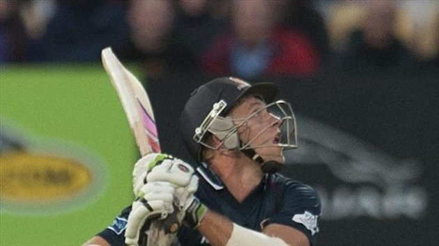 David Willey hit 10 sixes in his 167
