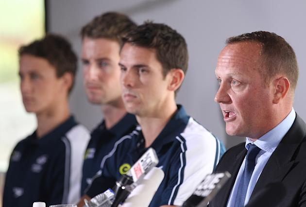 Swimming Australia Press Conference