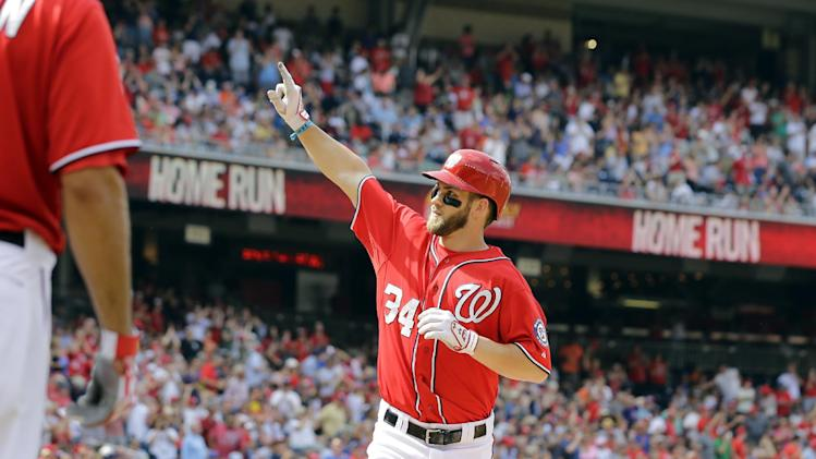 Harper, Desmond, Span homer, Nationals beat Mets