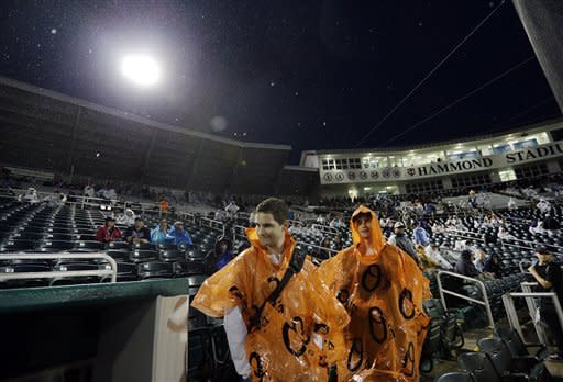 Twins-Rays rained out