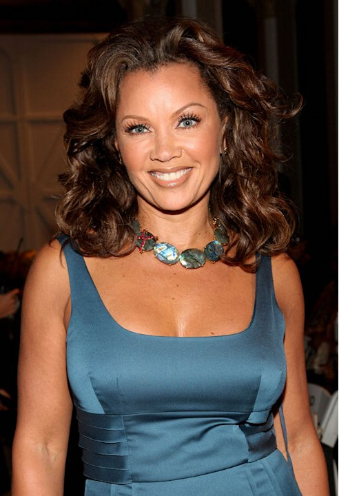 Vanessa Williams attends the Ann Taylor See Now, Wear Now runway show at The New York Public Library on September 17, 2009 in New York City.