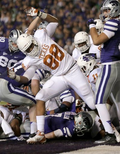 No. 7 Kansas State wins Big 12 title, beats Texas