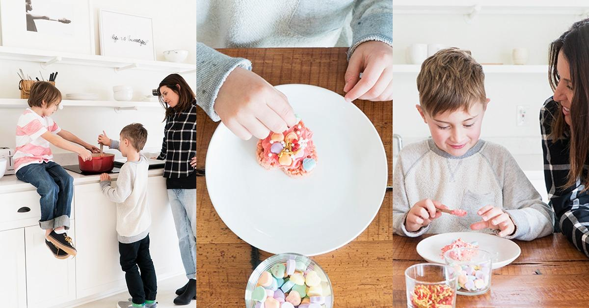 Crowd-Pleasing V-Day Treats from Mother + Old Navy