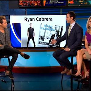 Singer Ryan Cabrera Talks New Single & Album On KCAL9