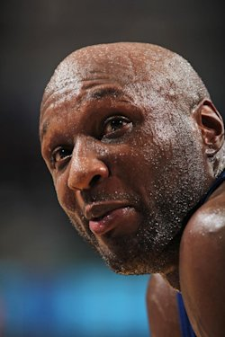 Lamar Odom was found unconscious in a Nevada brothel. (AP)