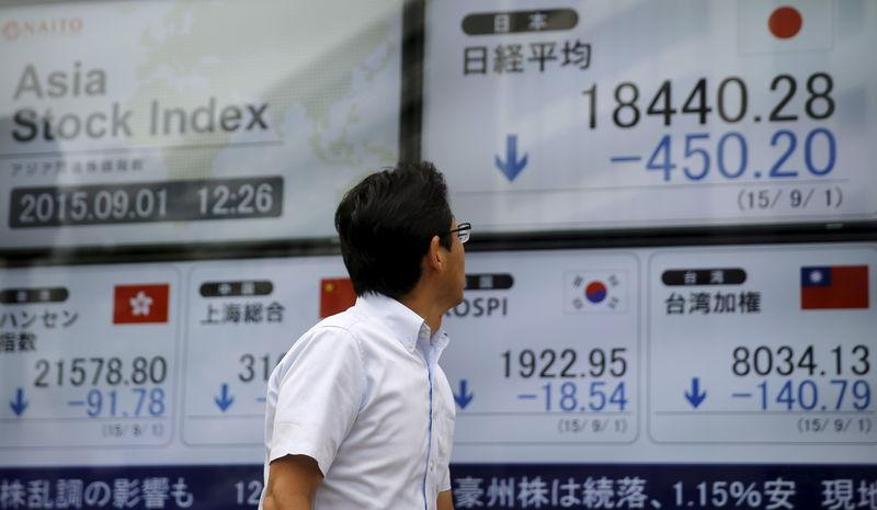 Global stocks rise as China fears ease; oil rebounds