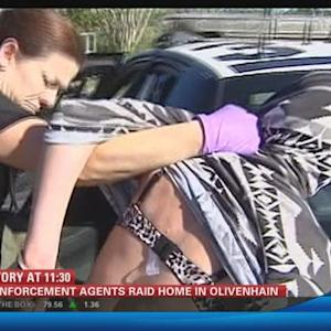 Law enforcement agents raid home in Olivenhain