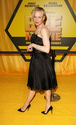 Renee Zellweger at the New York City premiere of DreamWorks Pictures' Bee Movie