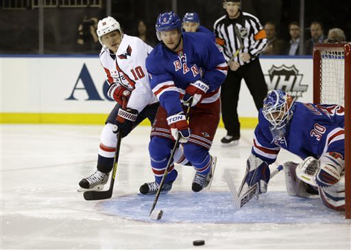 Rangers hold off Caps, cut deficit to 2-1