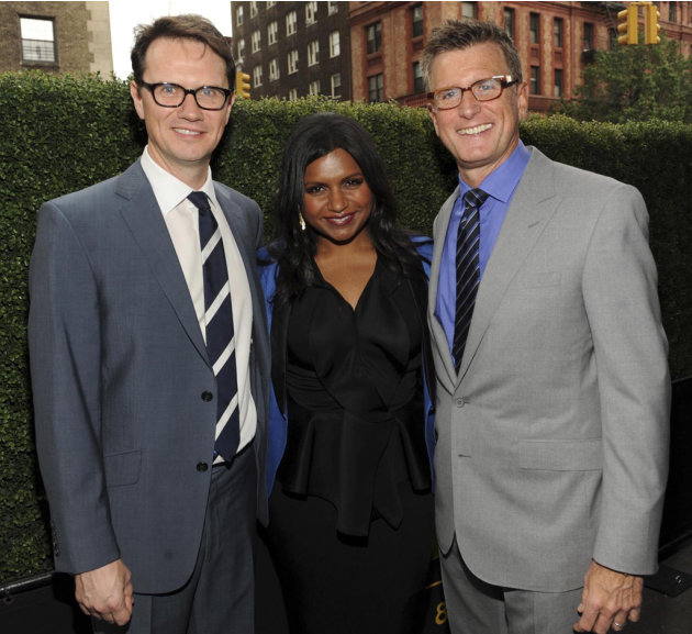 Peter Rice, Mindy Kaling and …