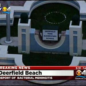 Report Of Bacterial Meningitis At Deerfield Park Elementary School