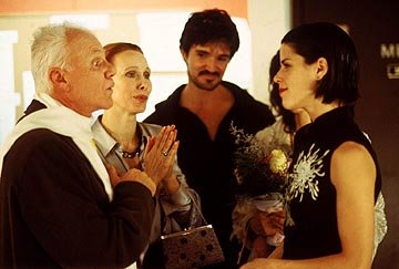 Malcolm McDowell , Barbara Robertson and Neve Campbell in Sony Pictures Classics' The Company