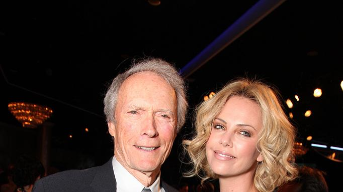 24th American Cinematheque Annual Gala 2010 Clint Eastwood Charlize Theron