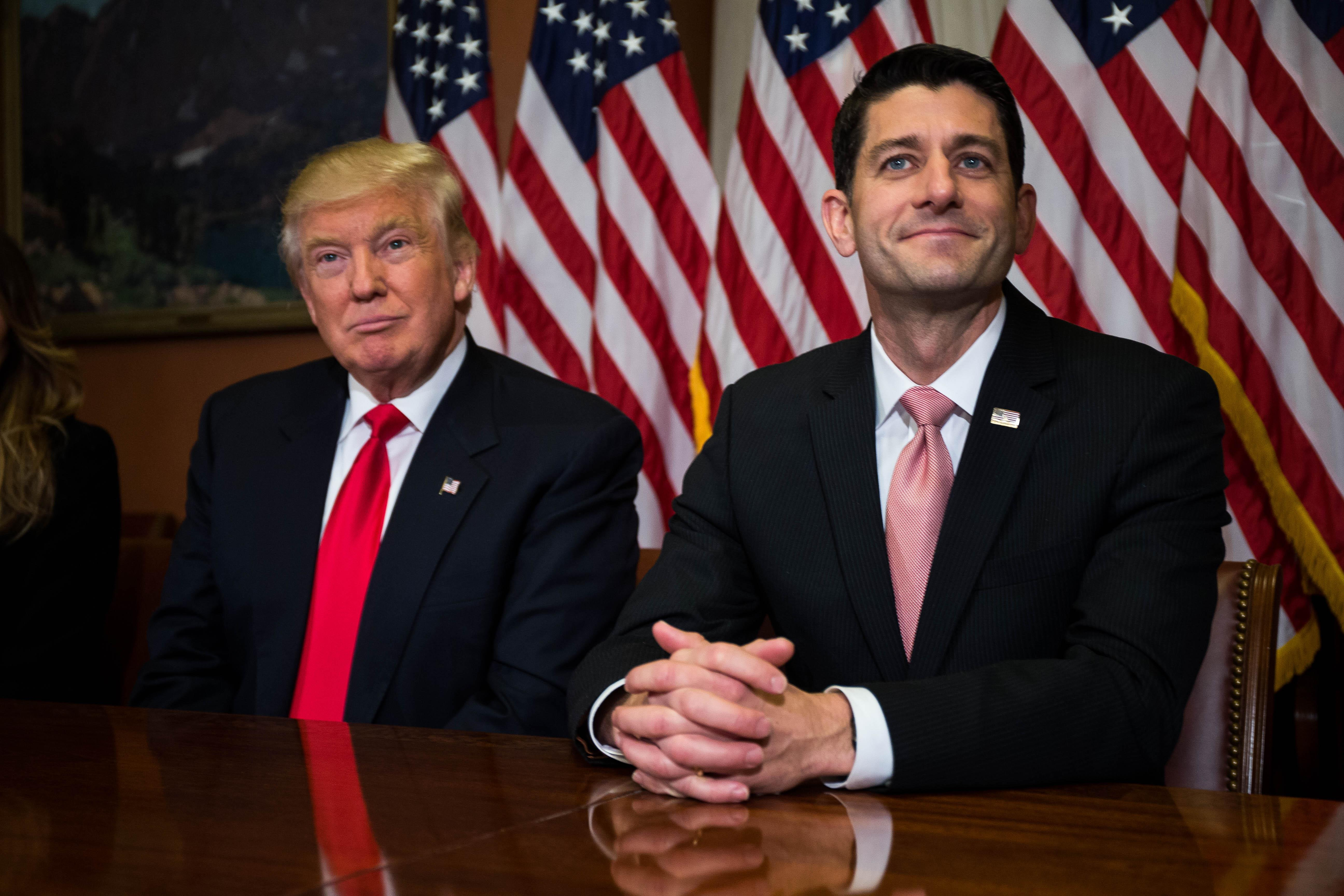 4 Coming Flash Points Between Donald Trump and the Congressional GOP