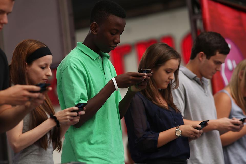National Texting Championship Held in Times Square