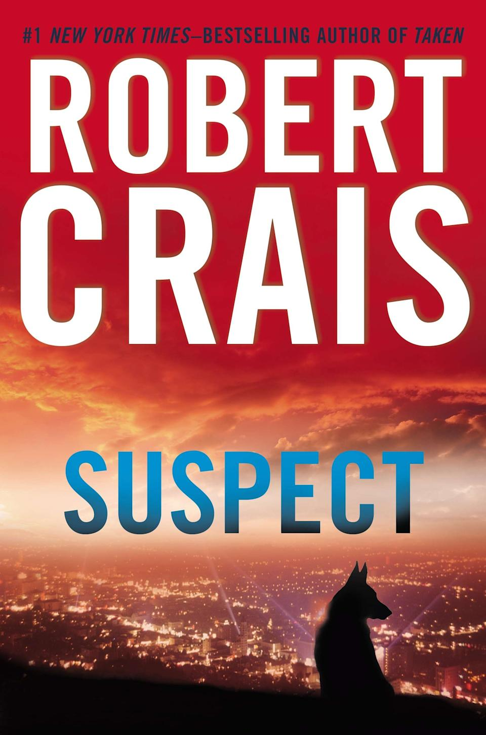 "This book cover image released by Putnam shows ""Suspect,"" by Robert Crais. (AP Photo/Putnam)"