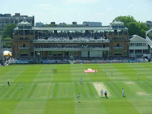 The famous Lord's slope.