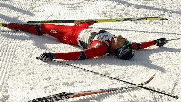 Cross-Country Skiing - Northug and Bjoergen wrap up wins in Finland