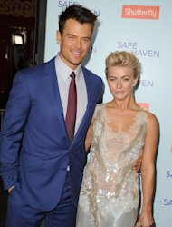Josh Duhamel and Julianne Hough arrives at the 'Safe Haven' - Los Angeles Premiere at TCL Chinese Theatre on February 5, 2013 in Hollywood -- Getty Premium