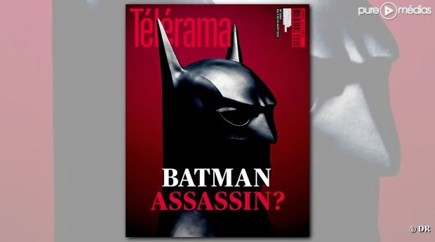 Tlrama s&#39;explique sur sa couverture Batman assassin ?